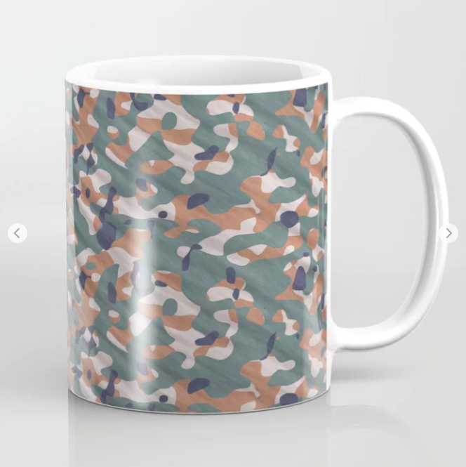 Army Camouflage Coffee Mug