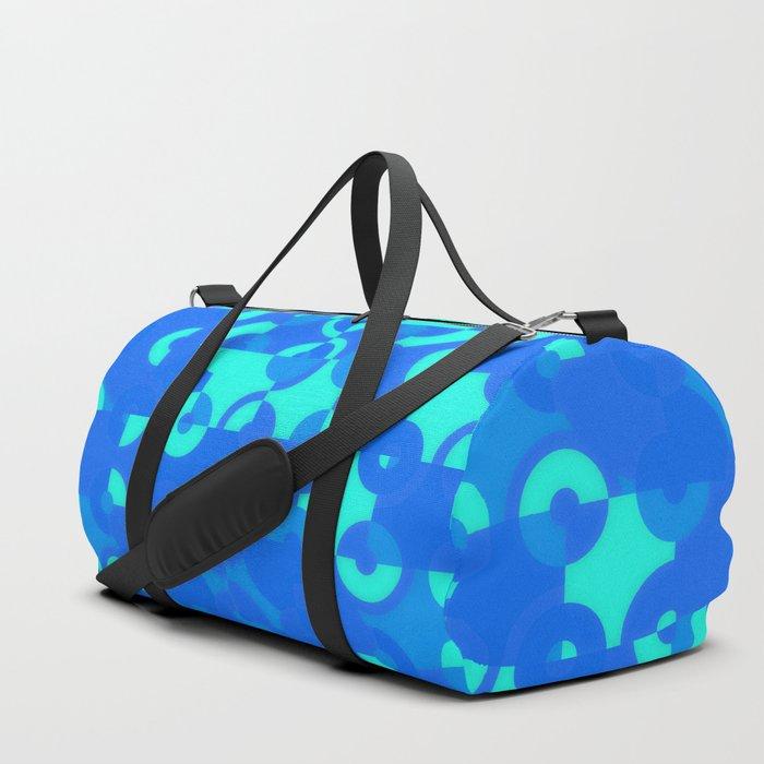 Blue Circle Quarters Duffle Bag