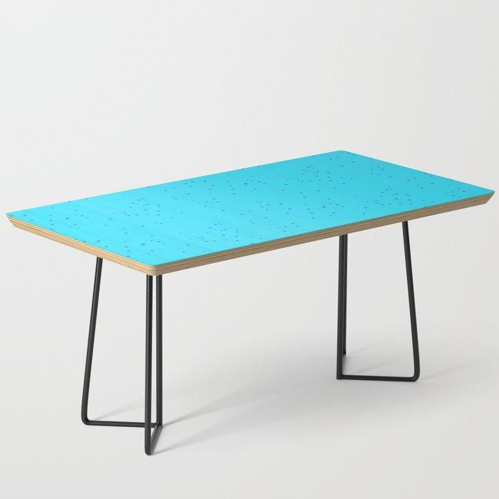 Blue Shambolic Bubbles Coffee Table