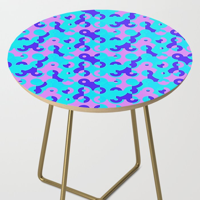 Circle Quarters Side Table