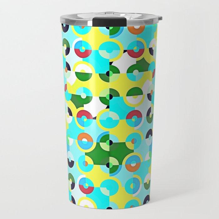 Circle Quarters Travel Mug