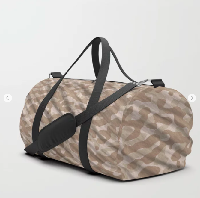 Desert Army Camouflage Duffle Bag