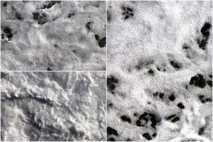 15 Sea Foam Textures