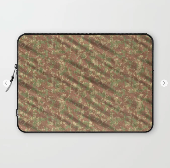 Forest Army Camouflage Laptop Sleeve
