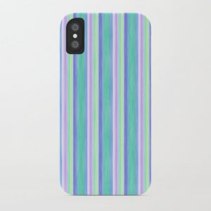 Purple Yellow Turquoise Scrapbook Sherbert iPhone Case