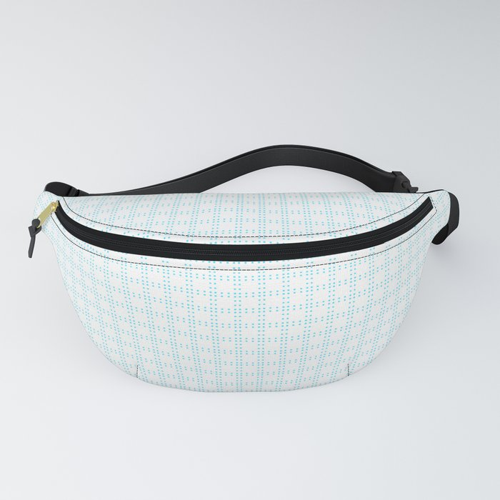 White Cell Checks Fanny Pack