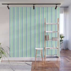 Yellow Pink Lime Scrapbook Sherbert Wall Mural