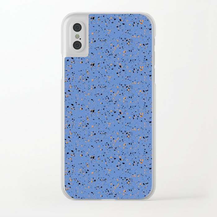 Blue Rubber Flooring Clear Cases