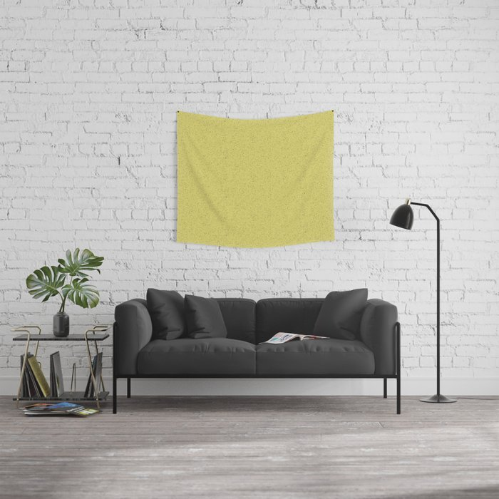 Yellow Rubber Flooring Tapestries