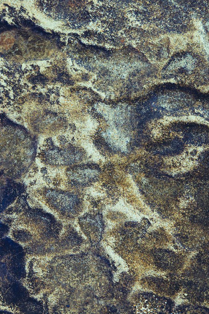 Sea rock cliff texture. Rough marine background.