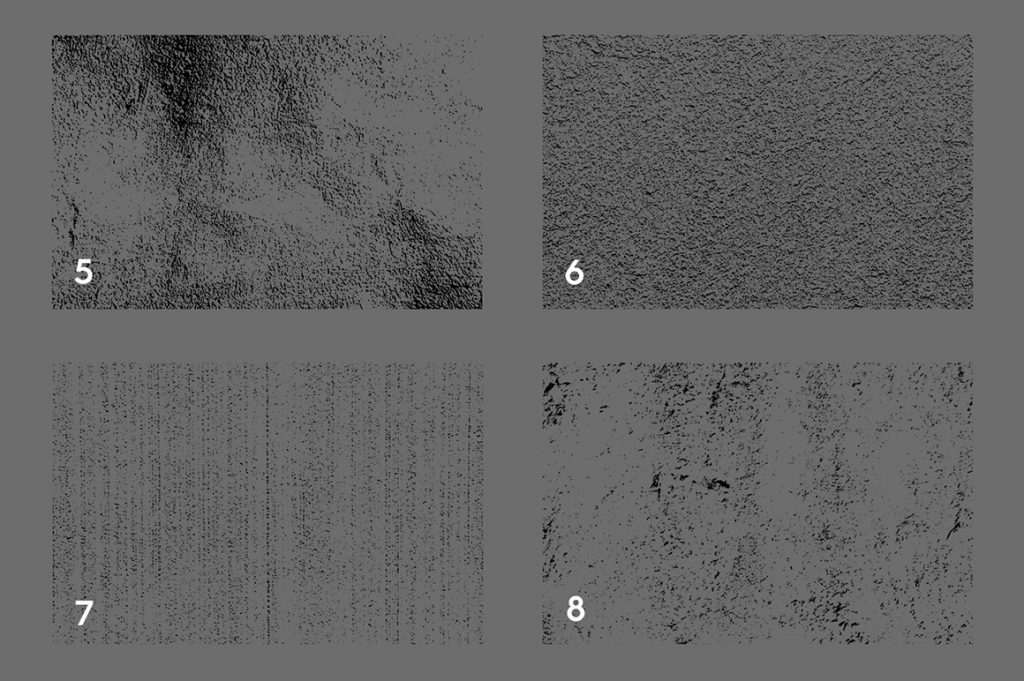 20 Concrete Wall Texture Overlays Preview Set 2