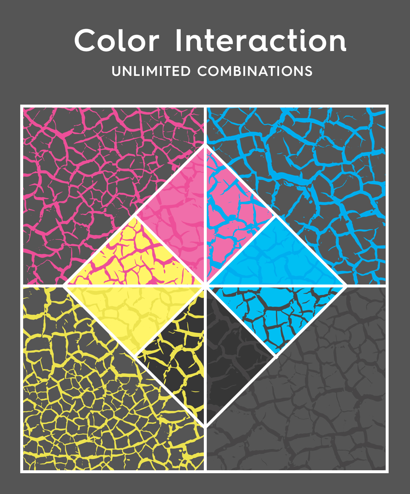 Cracked Dirt Texture Overlays Color Interaction Preview