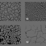 Cracked Dirt Texture Overlays Preview Set 3