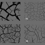 Cracked Dirt Texture Overlays Preview Set 4