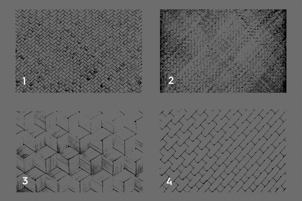 Wicker Rattan Texture Overlays Preview 1