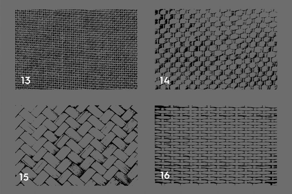 Wicker Rattan Texture Overlays Preview 4