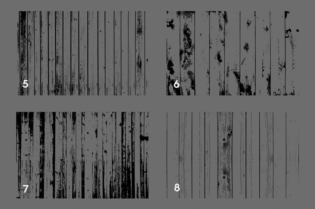 Wood Wall Textures Overlays Textures Preview Set 2