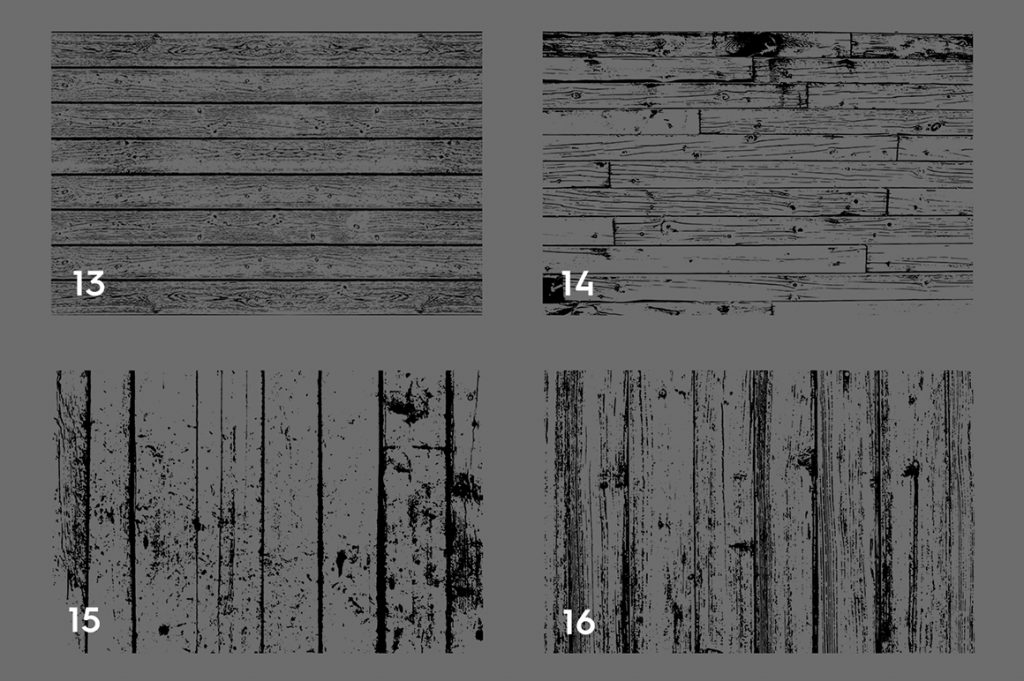 Wooden Planks Texture Overlays Preview Set 4