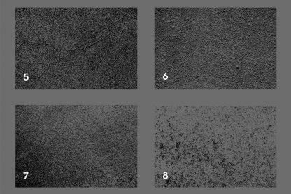 Asphalt & Road Texture Overlays Color Preview Set 2