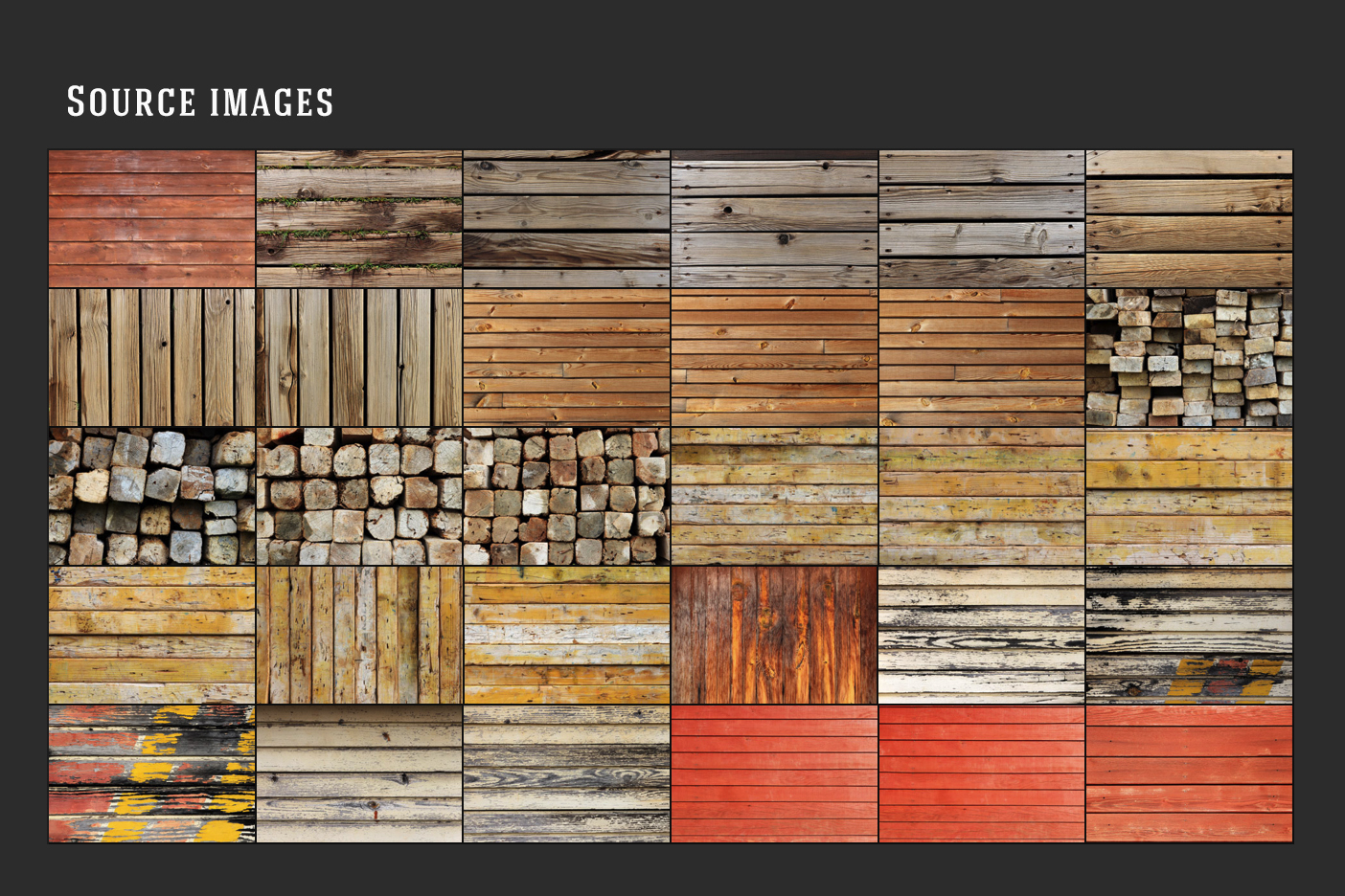 30 Wood Planks Textures Original Source Files Preview