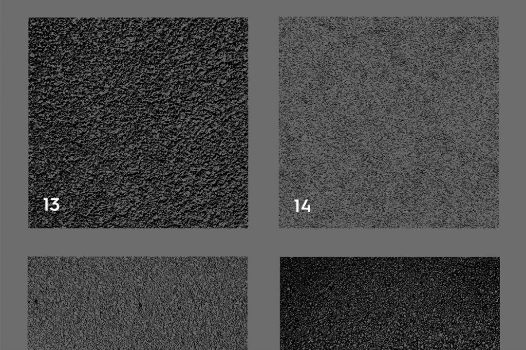 Asphalt & Road Texture Overlays Color Preview Set 4