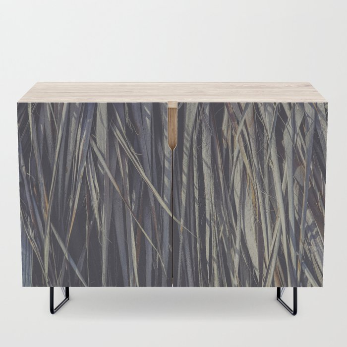 Dry Palm Leaves Credenza