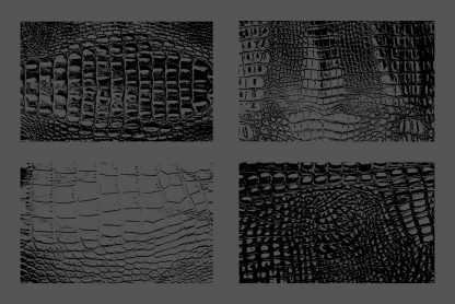 Crocodile Leather Texture Overlays Preview Set 1