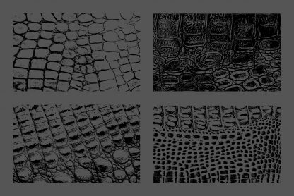 Crocodile Leather Texture Overlays Preview Set 2