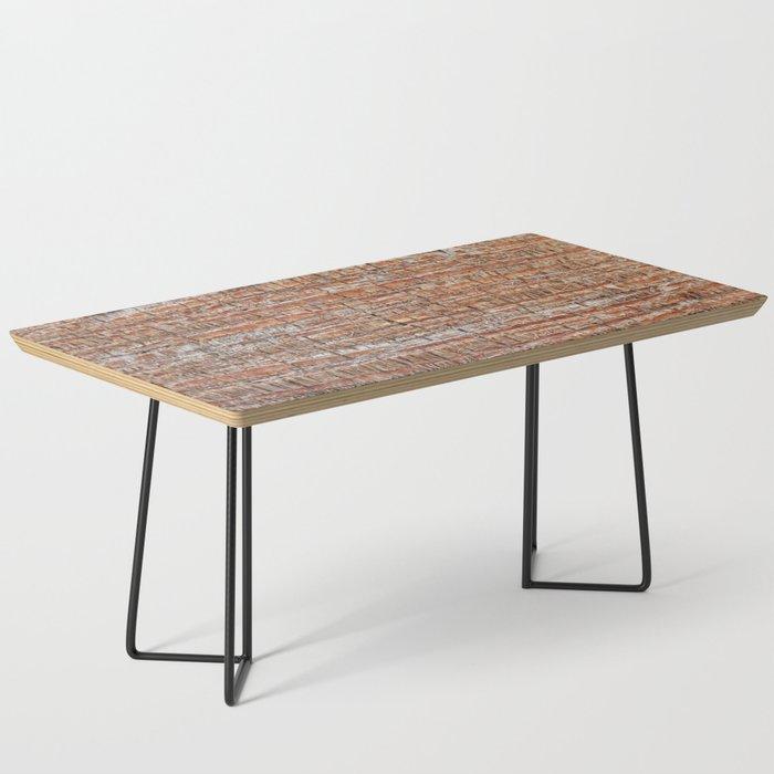 Palm Bark Pattern Coffee Table