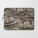 Palm Bark Texture Laptop Sleeve