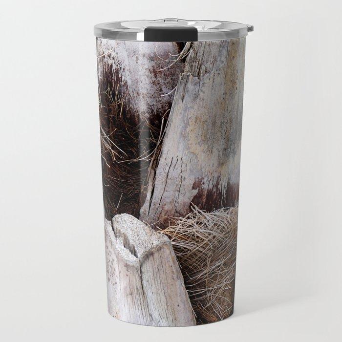 Palm Bark Travel Mug