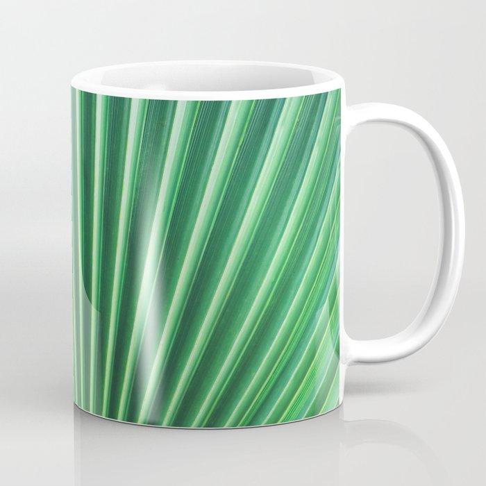 Palm Leaf Texture Coffee Mug