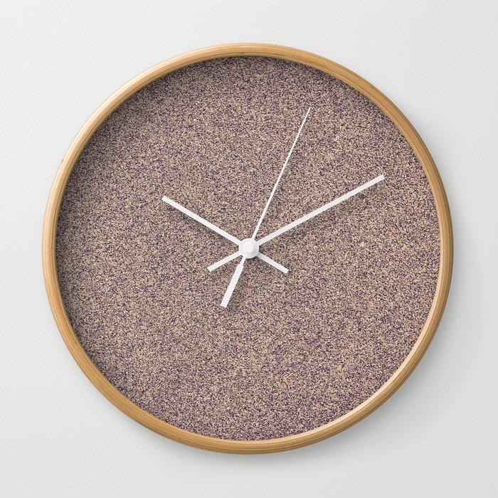 Sand Surface Wall Clock