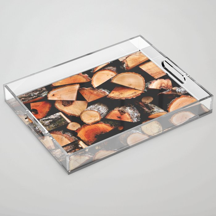 Timber Butts Acrylic Tray