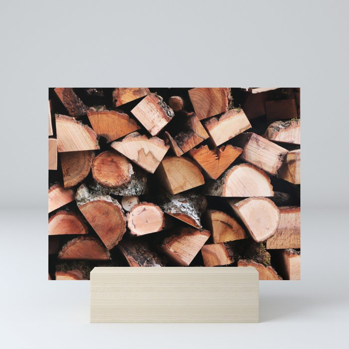 Timber Mini Art Prints