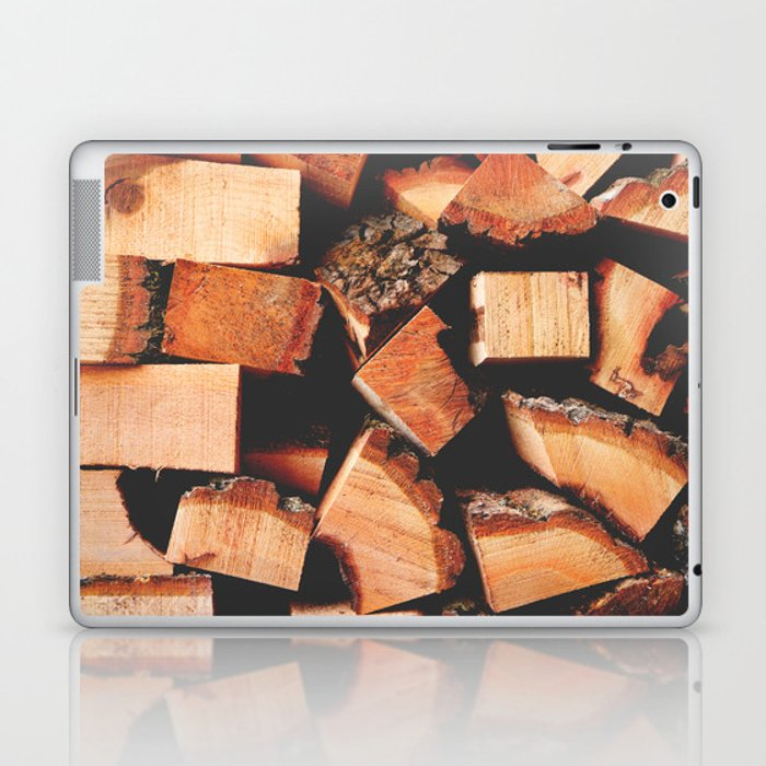 Wood Logging Laptop & iPad Skin