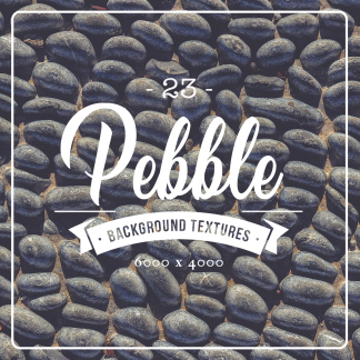 23 Pebble Background Textures