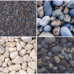 Pebble Background Textures Preview Set 3