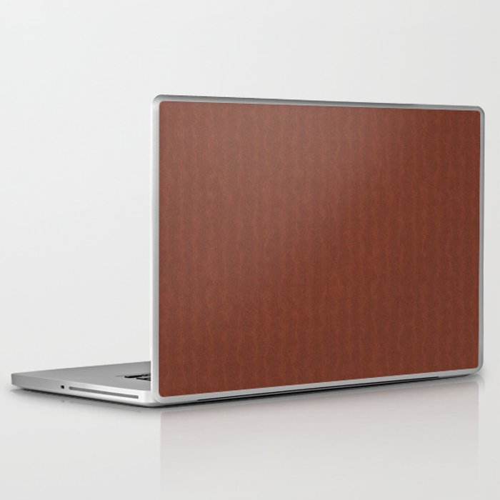 Brown Knitted Weaving Laptop iPad Skin