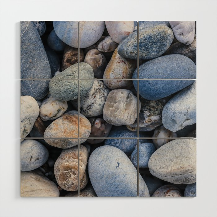 Cobblestones Wood Wall Art