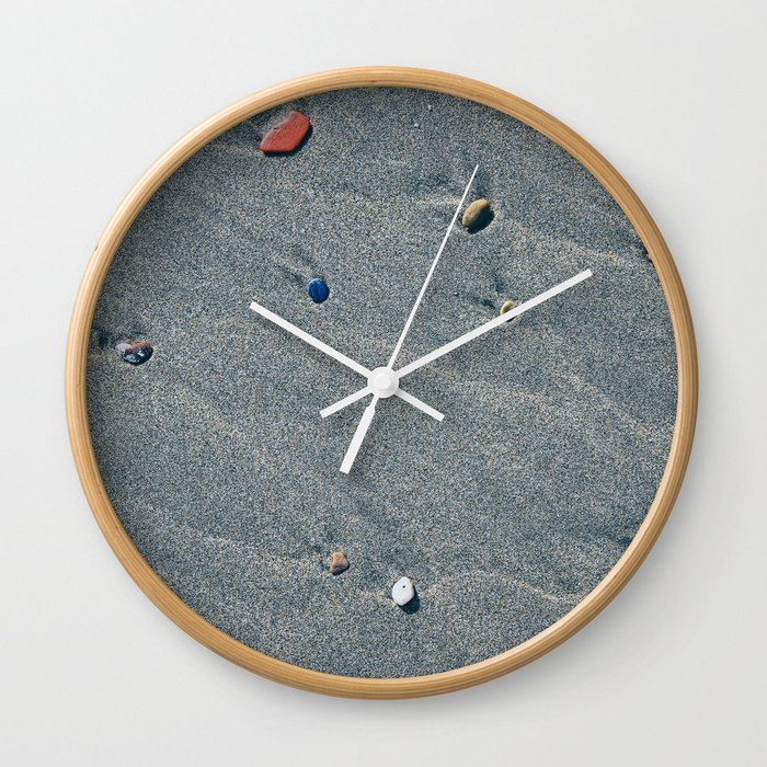 Rare Pebbles Wall Clock