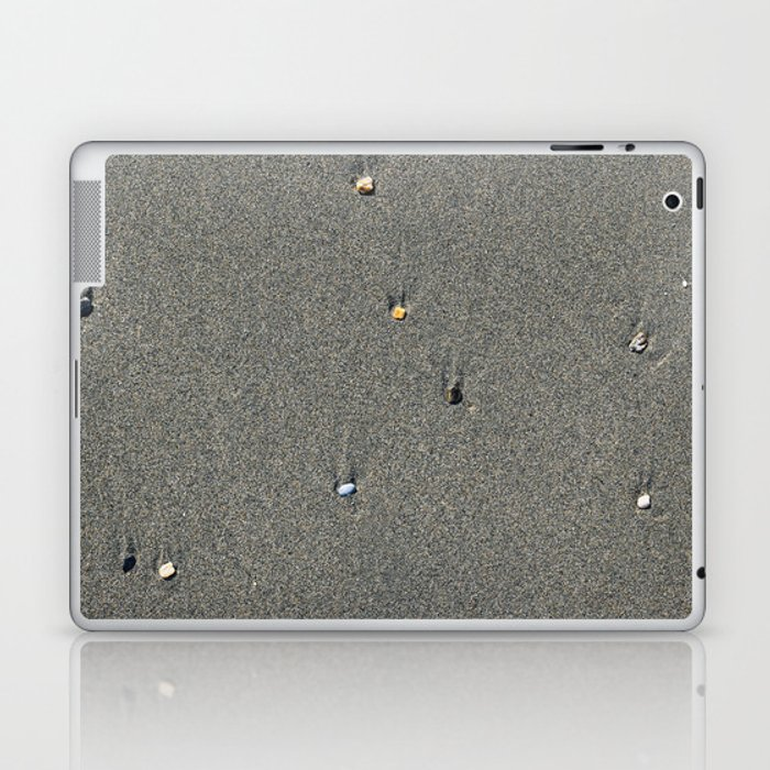 Stones on the Sand Laptop & iPad Skin