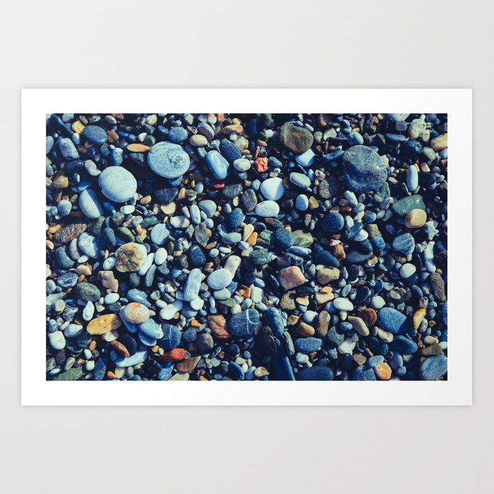 Wet Pebble Art Print