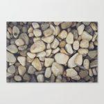 White Stones Canvas Print
