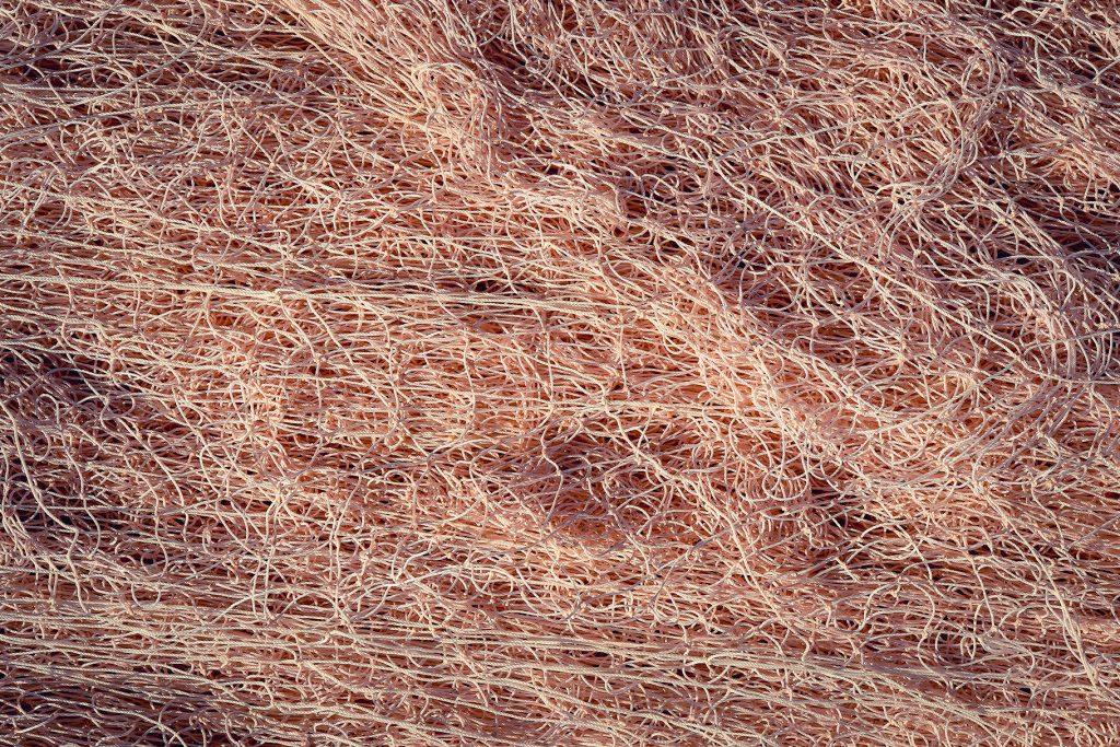 Nylon fishnet texture. Nautical marina background.