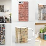 Using Stone Wall Background Textures in Industrial Design Preview