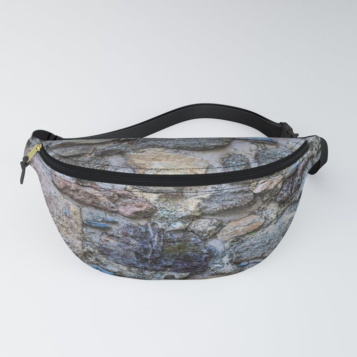 Cliff Stones Wall Texture Fanny Pack