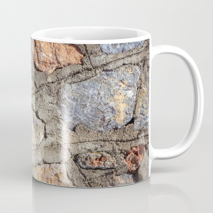 Cobblestones Cladding Wall Coffee Mug