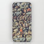 Cobblestones Wall Texture iPhone Skin