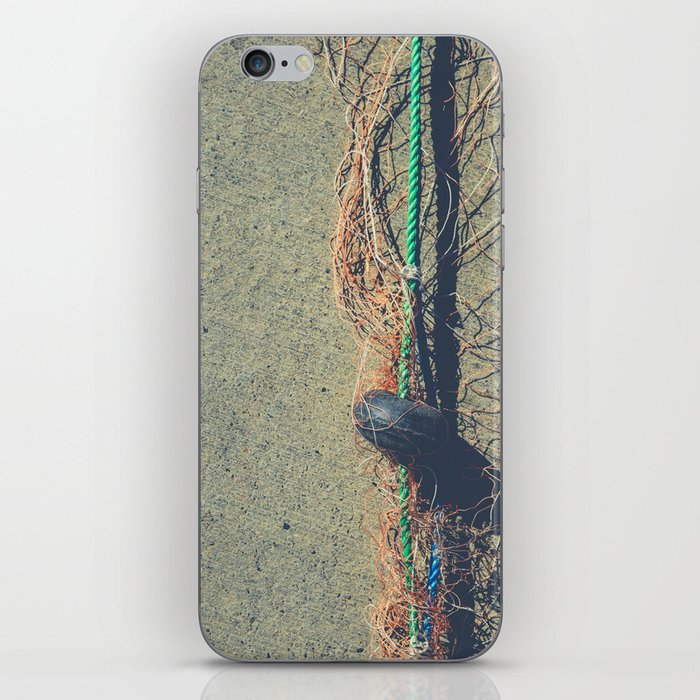 Fishnet with Buoy on Rope iPhone Skin